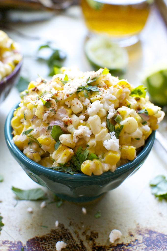 Mexican Street Corn   www.stuckonsweet.com