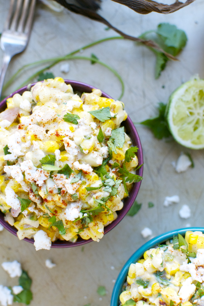 Mexican Street Corn | www.stuckonsweet.com
