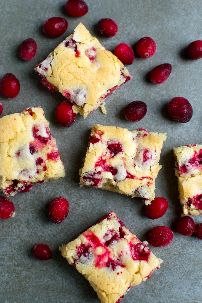 Cranberry Bars | www.stuckonsweet.com
