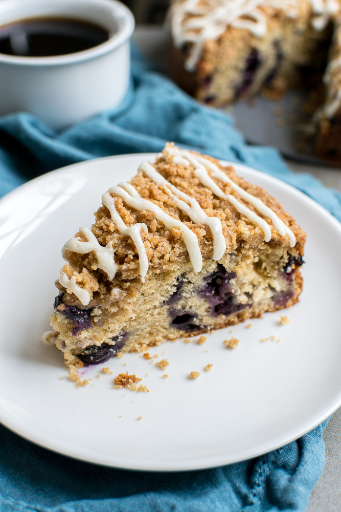 Blueberry Coffee Cake | www.stuckonsweet.com