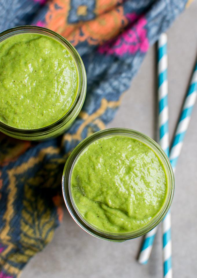 Green Power Smoothie | www.stuckonsweet.com