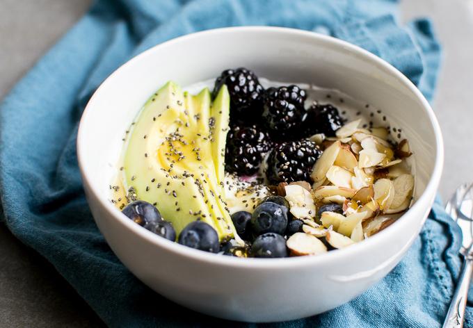 Healthy Yogurt Bowls | www.stuckonsweet.com