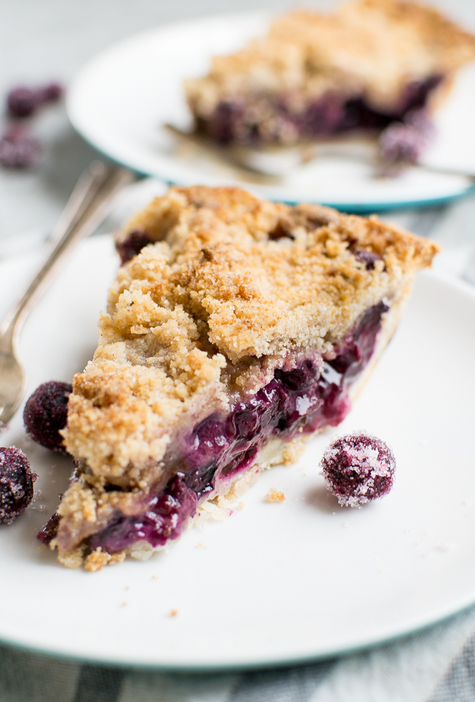 Blueberry Crumb Pie Image