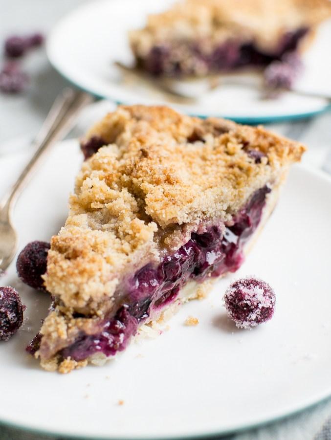 Blueberry Crumb Pie Image