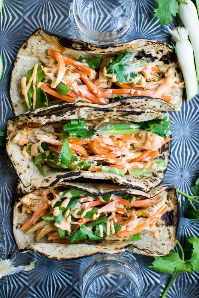 Chicken Teriyaki Tacos Image