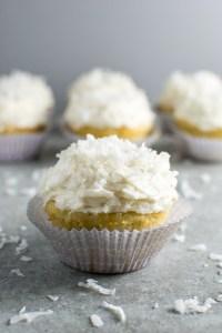 Coconut Cupcakes Picture