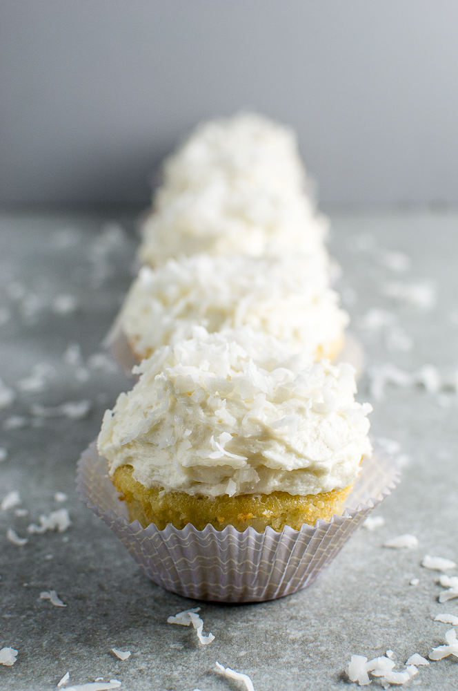 Coconut Cupcakes Image