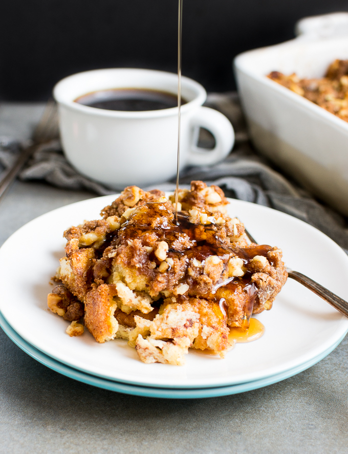 French Toast Casserole is a go-to breakfast recipe for brunch!