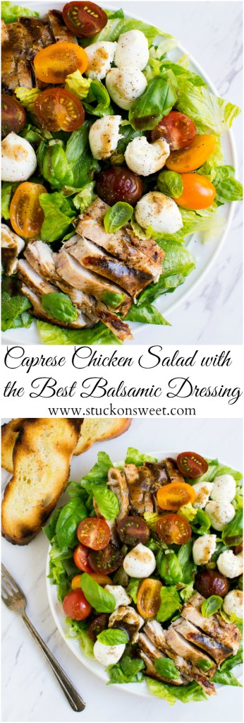 Caprese Chicken Salad