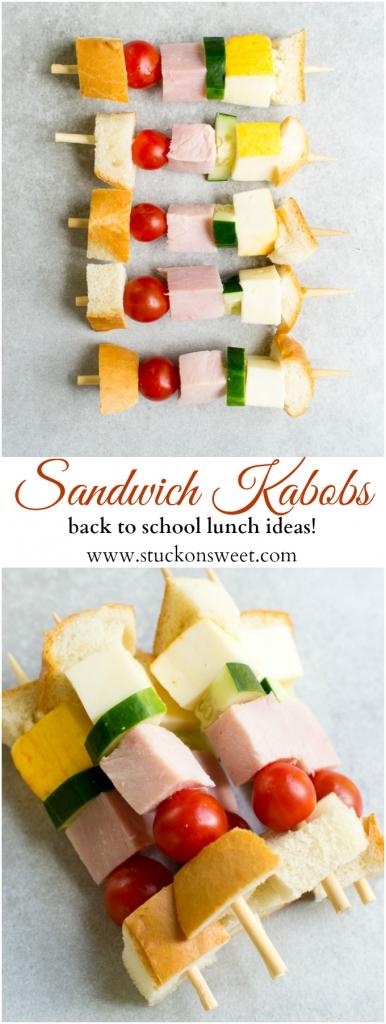 Back to school lunch ideas!