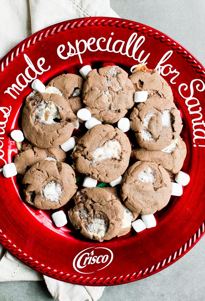Hot Chocolate Sugar Cookies Stuck On Sweet