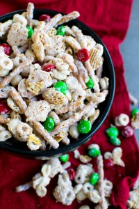 Christmas Crack (AKA White Chocolate Chex Mix)