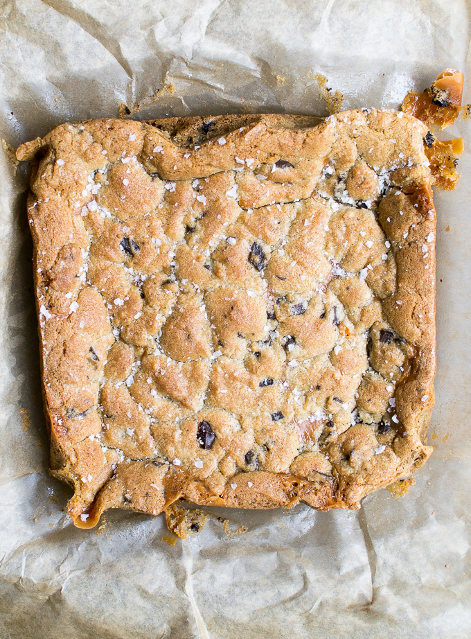 picture of chocolate chip cookie bars