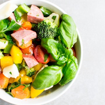 picture of vegetable salad