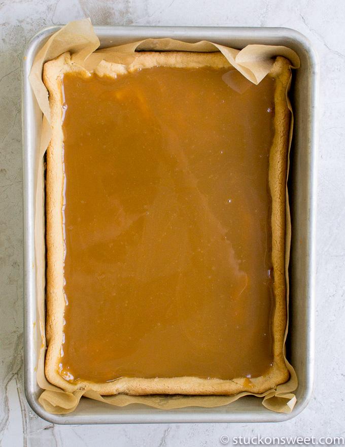salted caramel dessert