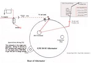 Alternator Wiring SI10  JeepForum