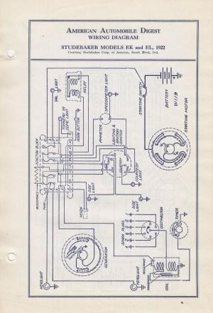 Studebaker Wiring Diagrams | Wiring Diagram And Schematics