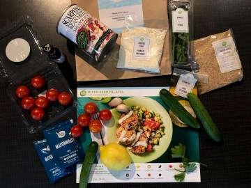 Saving money with meal kits
