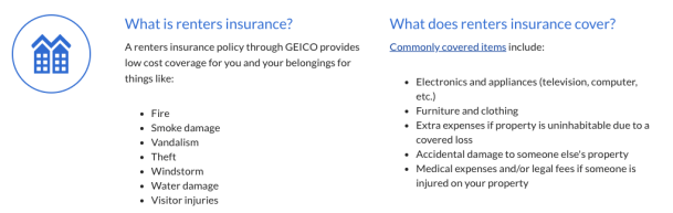 Geico Renters Insurance Review: Pros & Cons, Pricing, and ...