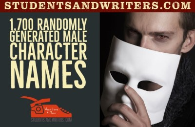 Read more about the article 1,700 Randomly Generated Male Character Names