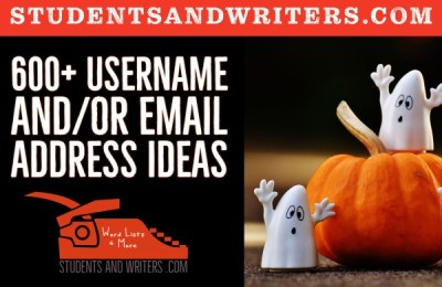 Read more about the article 600+ Usernames and Email Address Ideas