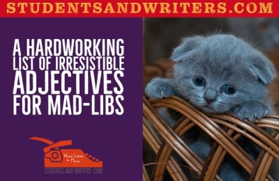 Read more about the article A Hardworking List of Irresistible Adjectives for Mad-libs