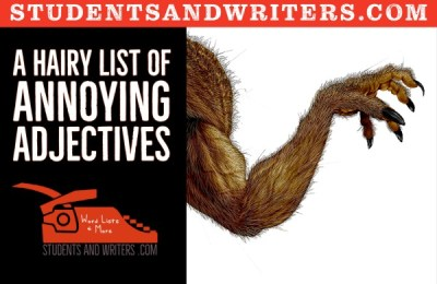 Read more about the article A hairy list of annoying adjectives