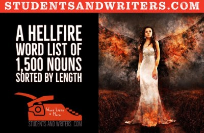 Read more about the article A hellfire word list of 1,500 nouns sorted by length
