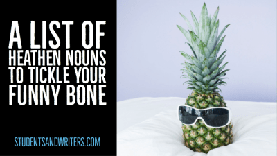 A list of heathen nouns to tickle your funny bone