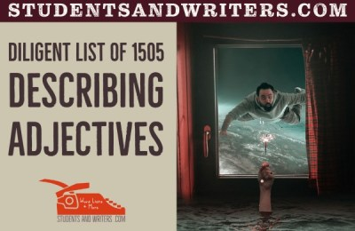 Read more about the article Diligent list of 1505 describing adjectives