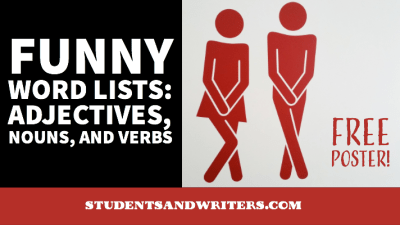 Funny Mad Libs Word Lists: Adjectives, Nouns, and Verbs