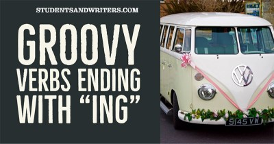 """Groovy verbs ending with """"ing"""""""