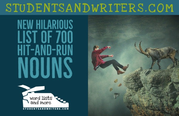 New Hilarious List of 700 Hit-and-Run Nouns