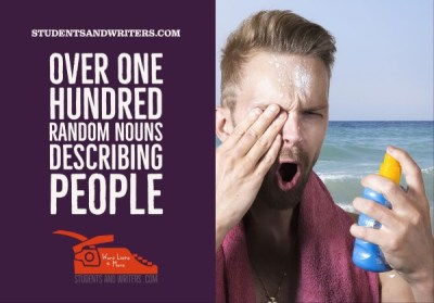 Read more about the article Over one hundred random nouns describing people