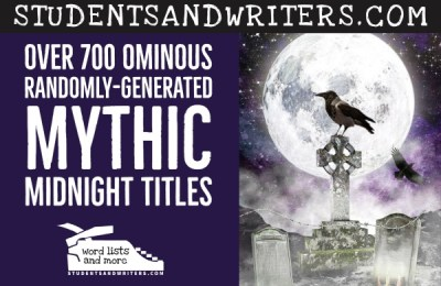Read more about the article Over 700 Ominous Randomly-Generated Mythic Midnight Titles