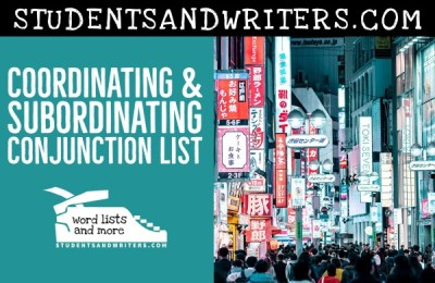 Read more about the article Coordinating & Subordinating Conjunction List