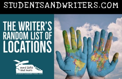 Read more about the article The Writer's Random List of Locations