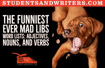 Read more about the article The funniest ever Mad Libs Word Lists: Adjectives, Nouns, and Verbs