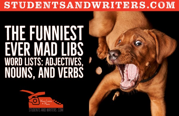 You are currently viewing The funniest ever Mad Libs Word Lists: Adjectives, Nouns, and Verbs