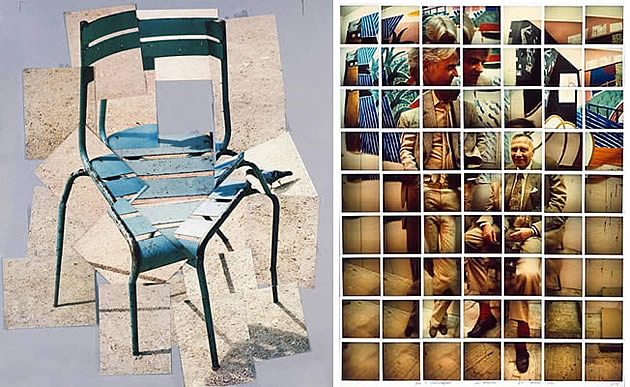 david hockney photo montage