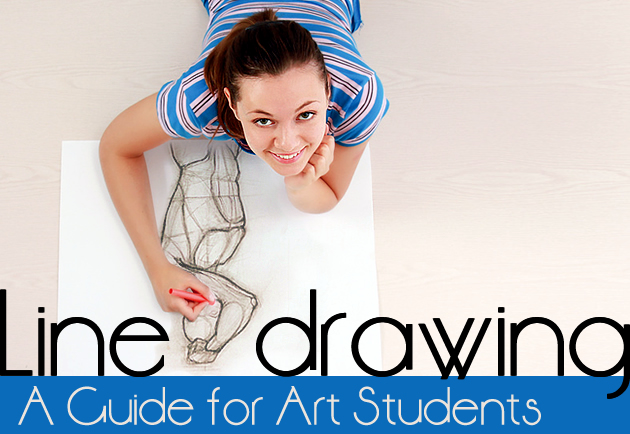 Line Art Guide : Line drawing a guide for art students rajesh jain g