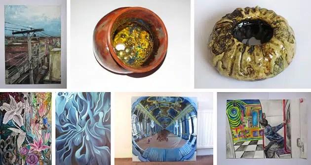 fine art portfolio example
