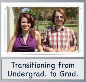 Transitioning from Undergrad. to Grad.