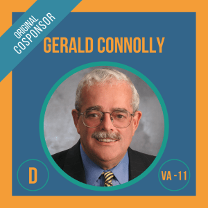 Representative Gerry Connolly, Cosponsor of the Student Borrower Bankruptcy Relief Act