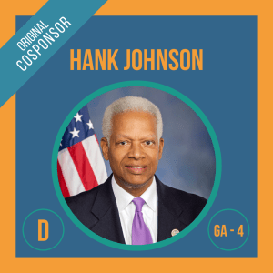 Representative Hank Johnson, Cosponsor of the Student Borrower Bankruptcy Relief Act