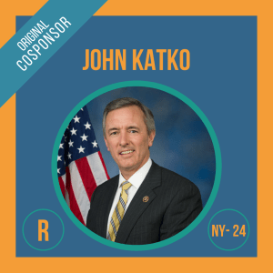 Representative John Katko, Cosponsor of the Student Borrower Bankruptcy Relief Act