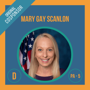 Representative Mary Gay Scanlon, Cosponsor of the Student Borrower Bankruptcy Relief Act