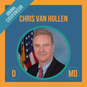Senator Chris Van Hollen, Cosponsor of the Student Borrower Bankruptcy Relief Act