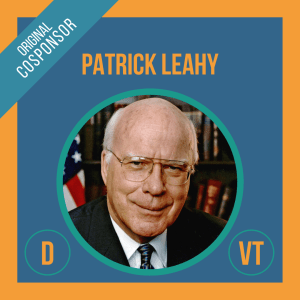 Senator Patrick Leahy, Cosponsor of the Student Borrower Bankruptcy Relief Act