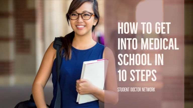 How to Get into Medical School in 10 Steps